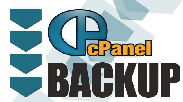 cPanel Backup